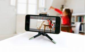 Камера из смартфона