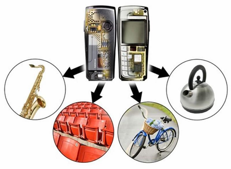 Что можно сделать из вторсырья от мобильных телефонов